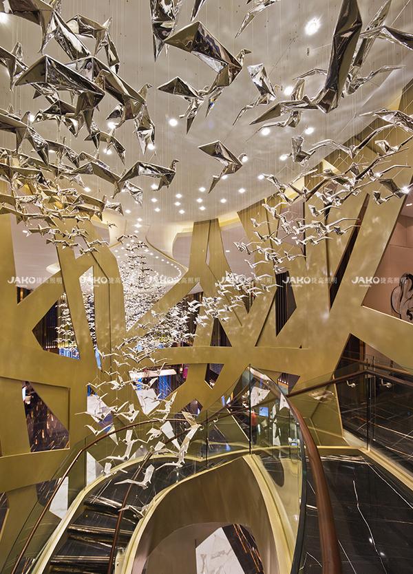 [京·境遇] 百鸟归巢—碧泉酒店旋转楼梯