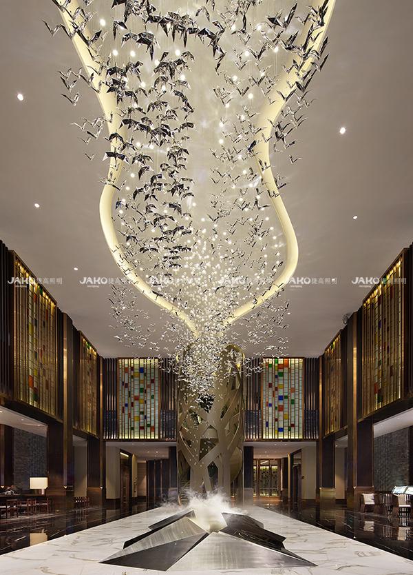 [京·境遇] 百鸟归巢—碧泉酒店大堂
