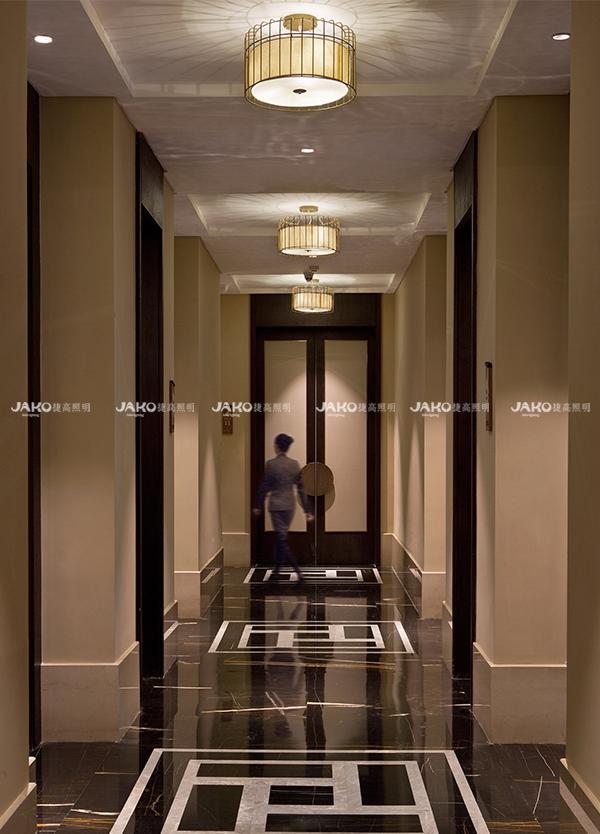 [京•境遇] 粤•风情—碧泉酒店中式餐厅走廊