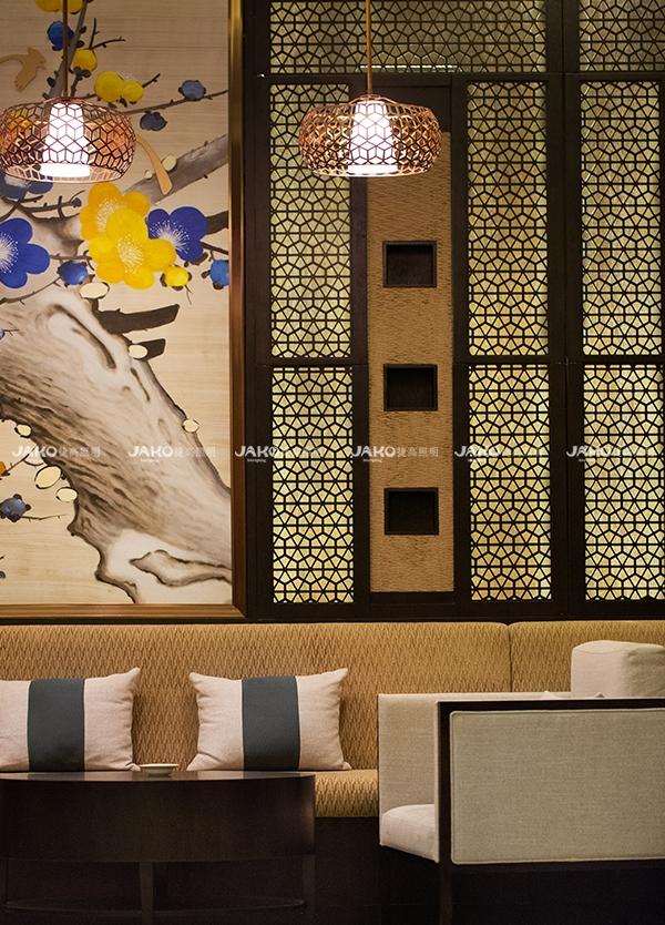 [京•境遇] 粤•风情—碧泉酒店中式餐厅散座