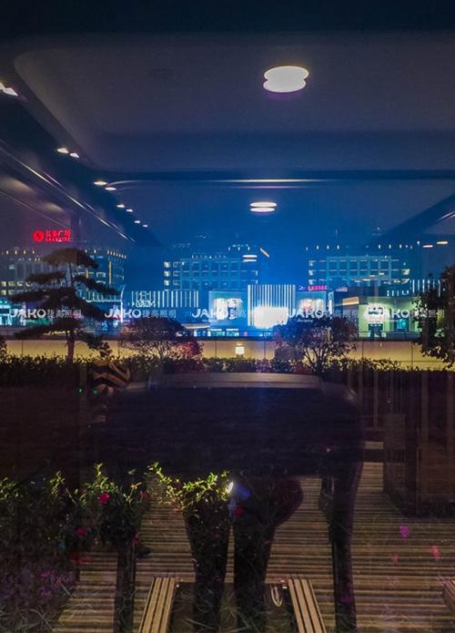 上海浦东长荣酒店-露台