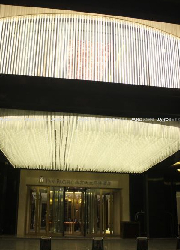 北京泛太平洋酒店非标工程灯